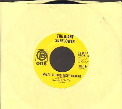 Giant Sunflower - What's So Good About Goodbye/Mark Twain - NM9/ - 45 rpm Records