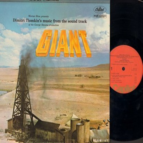Giant - Giant - (Reissue) Original Motion Picture Sound Track (Vinyl MONO LP record, 1970s pressing of vintag 1955 recordings) - NM9/NM9 - LP Records