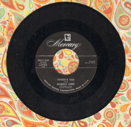 Gibbs, Georgia - Tweedle Dee/You're Wrong, All Wrong  - VG7/ - 45 rpm Records
