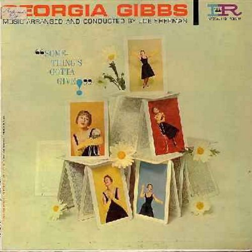Gibbs, Georgia - Something's Gotta Give!: In Other Words, Loch Lomond, Tammy, So In Love, Hush-A-Bye (Vinyl MONO LP record) - EX8/VG7 - LP Records