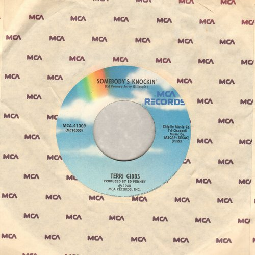 Gibbs, Terri - Somebody's Knockin'/Some Days It Rains All Night Long - EX8/ - 45 rpm Records
