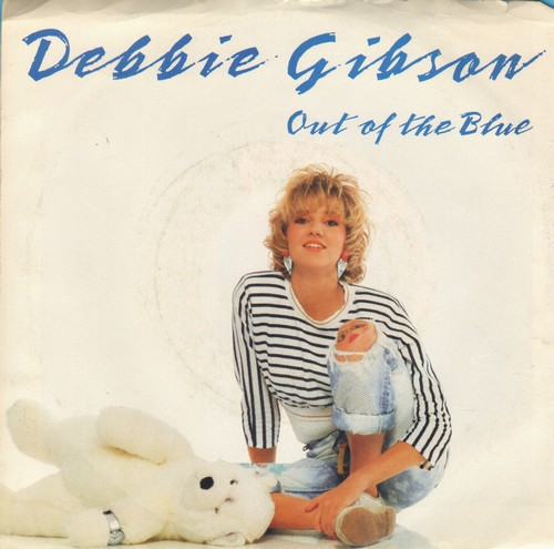 Gibson, Debbie - Out Of The Blue (with picture sleeve) - M10/EX8 - 45 rpm Records