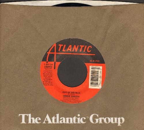 Gibson, Debbie - Out Of The Blue (with Atlantic company sleeve) - NM9/ - 45 rpm Records