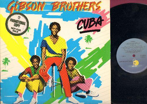 Gibson Brothers - Cuba: Ooh What A Life, West Indies, Better Do It Slasa!, Que Sera Mi Vida (Vinyl LP record, DJ advance pressing) - NM9/EX8 - LP Records