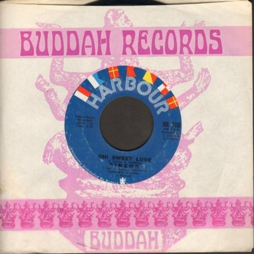 Gideon - Oh! Sweet Love/Keep It Up (with company sleeve) - NM9/ - 45 rpm Records