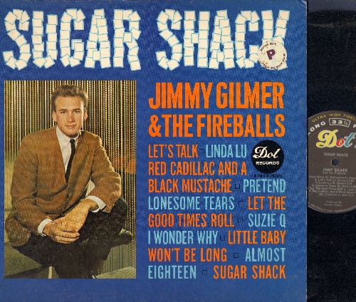 Gilmer, Jimmy & The Fireballs - Sugar Shack: Red Cadillac And A Black Mustache, Pretend, Almost Eighteen, Little Baby, Linda Lu, Let The Good Times Roll (Vinyl MONO LP record) - VG6/VG7 - LP Records