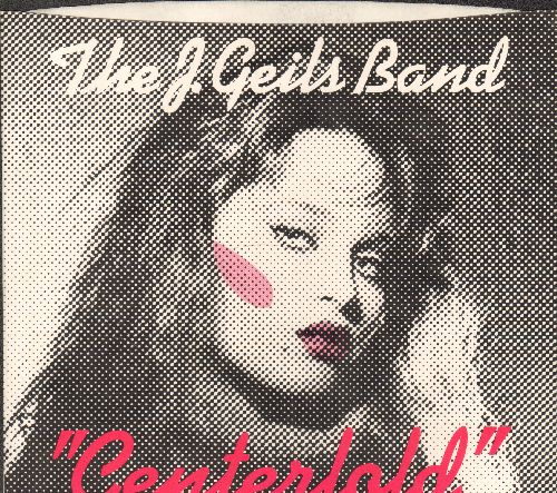 Geils, J. Band - Centerfold/Rage In The Cage (#1 US Billboard Chart Single of The Year 1982!) (with RARE picture sleeve) - NM9/NM9 - 45 rpm Records