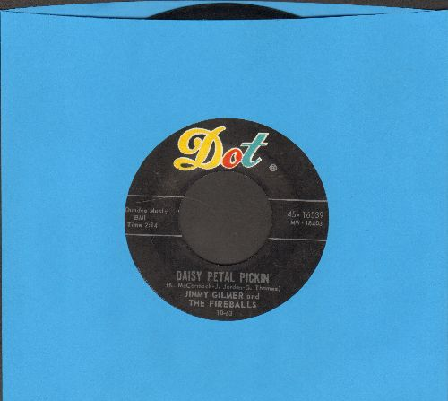 Gilmer, Jimmy & The Fireballs - Daisy Petal Pickin'/When My Tears Have Dried  - EX8/ - 45 rpm Records