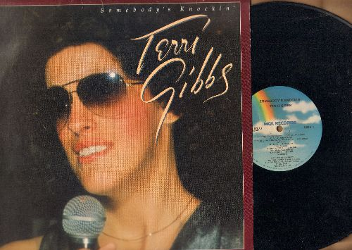 Gibbs, Terri - Somebody's Knockin': Rich Man, It's True, Tell Me That You Love Me, Magic Time, Wasted Love (vinyl LP record) - EX8/EX8 - 45 rpm Records