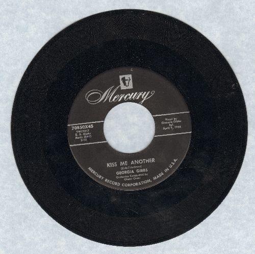 Gibbs, Georgia - Kiss Me Another/Fool Of The Year - G5/ - 45 rpm Records