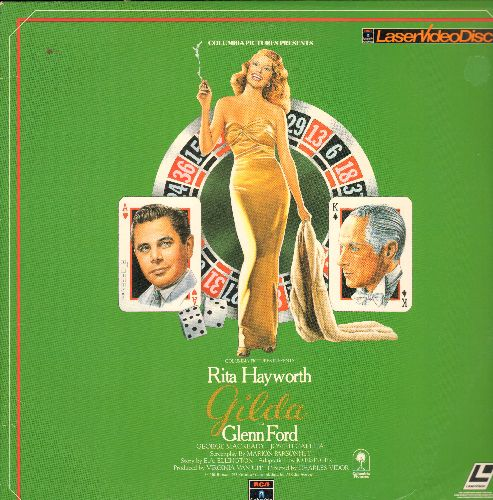 Gilda - Gilda - LASERDISC version of the Rita Hayworth Classic (NICE cover art!) - NM9/EX8 - LaserDiscs