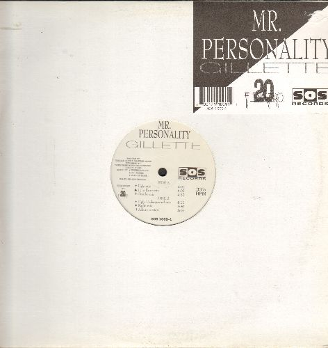 Gillette  - Mr. Personality - 12 inch vinyl Maxi Single featuring 6 Extended Dance Club Tracks, with original company cover. - M10/ - Maxi Singles