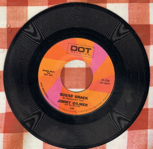 Gilmer, Jimmy & The Fireballs - Sugar Shack/Daisy Petal Pickin' (double-hit re-issue) - VG7/ - 45 rpm Records