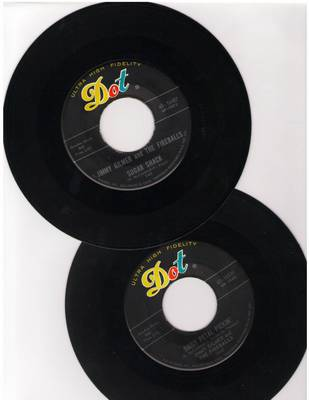 Gilmer, Jimmy & The Fireballs - 2 for 1 Special: Sugar Shack/Daisy Petal Pickin' (2 original first issue 45rpm records for the price of 1!) - EX8/ - 45 rpm Records