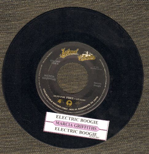 Griffiths, Marcia - Electric Boogie (Electric Slide)/Electric Boogie (Instrumental) (with juke box label) - EX8/ - 45 rpm Records