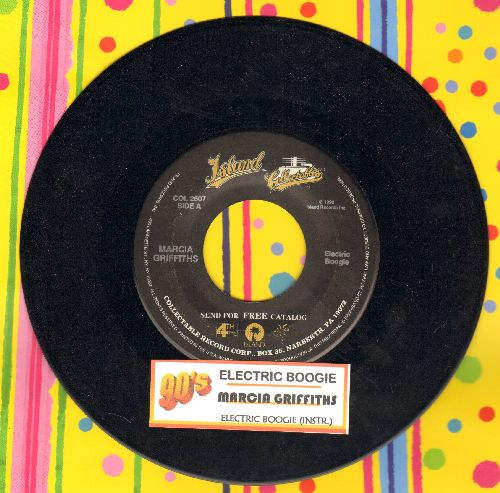 Griffiths, Marcia - Electric Boogie (Electric Slide)/Electric Boogie (Instrumental) (re-issue with juke box label) - NM9/ - 45 rpm Records