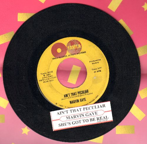 Gaye, Marvin - Ain't That Peculiar/She's Got To Be real (with juke box label) - NM9/ - 45 rpm Records