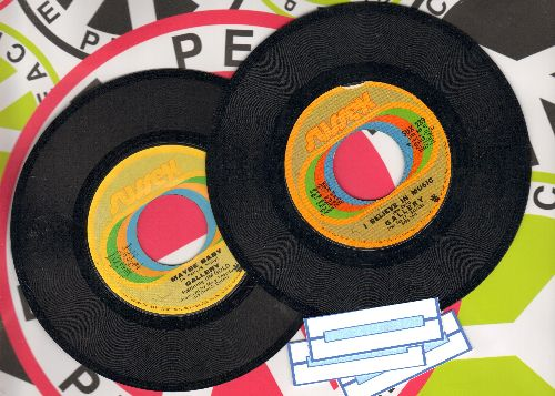 Gallery - 2 for 1 Special: I Believe In Music/Maybe Baby (2 vintage first issue 45rpm records for the price of 1! - Shipped in plain paper sleeves with 3 blank juke box labels) - VG7/ - 45 rpm Records