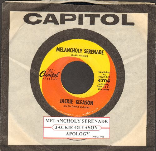 Gleason, Jackie & His Concert Orchestra - Melancholy Serenade (Signature Theme from Jackie Gleason's