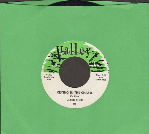 Glenn, Darrell - Crying In The Chapel/Hang Up That Telephone (NICE condition!) - NM9/ - 45 rpm Records