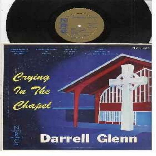 Glenn, Darrell - Crying In The Chapel: Count Your Blessings, Lucky Old Sun, Swing Low, You'll Never Walk Alone (vinyl MONO LP record, 1959 first issue) - NM9/EX8 - LP Records