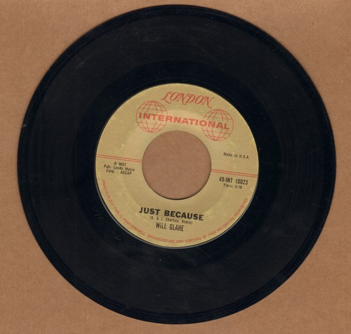 Glahe, Will - Just Because/Seven Roses - EX8/ - 45 rpm Records