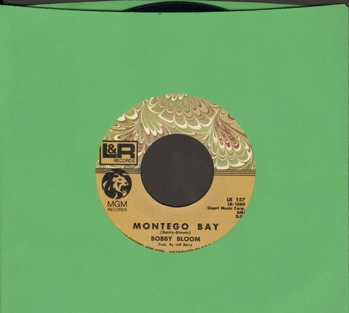 Bloom, Bobby - Montego Bay/Try A Little Harder - M10/ - 45 rpm Records