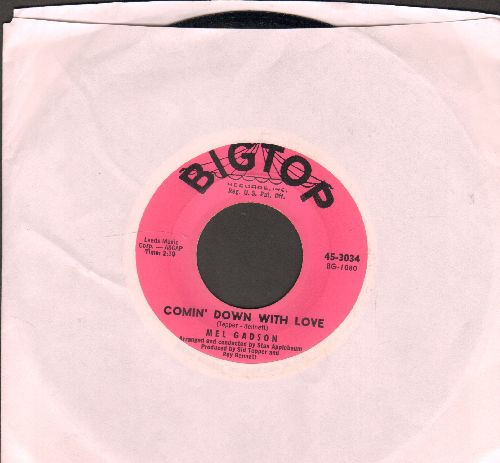 Gadson, Mel - Comin' Down With Love/I'm Getting Sentimental Over You (wol) - NM9/ - 45 rpm Records