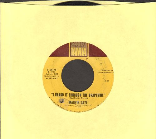 Gaye, Marvin - I Heard It Through The Grapevine/You're What's Happening (bb) - EX8/ - 45 rpm Records