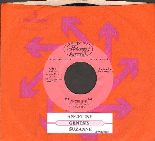 Genesis - Angeline/Suzanne (DJ advance pressing with juke box label and Mercury company sleeve) - M10/ - 45 rpm Records