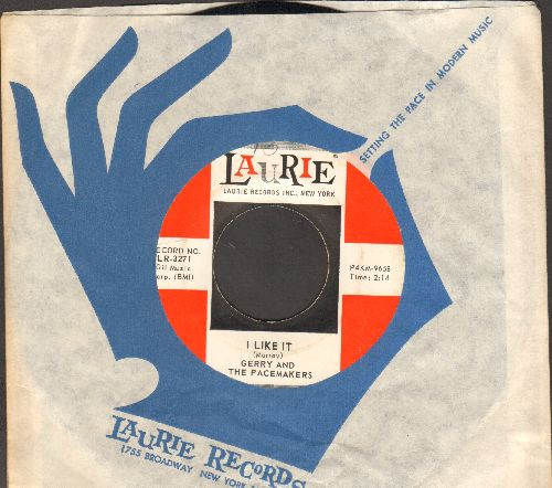 Gerry & The Pacemakers - I Like It/Jambalaya (with Laurie company sleeve) - NM9/ - 45 rpm Records