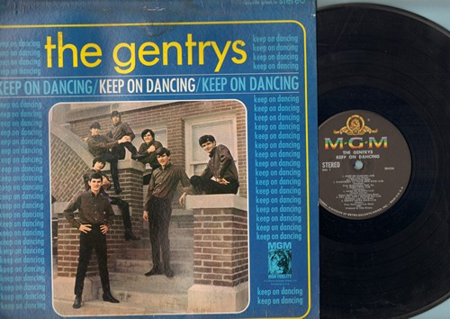 Gentrys - Keep On Dancing: Hang On Sloopy, Do You Love Me, So Sad (To Watch Good Love Go Bad), Hand Jive (Vinyl STEREO LP record) - EX8/G5 - LP Records