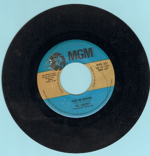Gentrys - Keep On Dancing/Spread It On Thick (authentic-looking double-hit re-issue) - EX8/ - 45 rpm Records