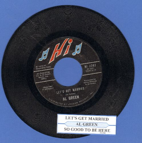 Four Tops - Reach Out I'll Be There/Until You Love Someone (with juke box label) - VG7/ - 45 rpm Records