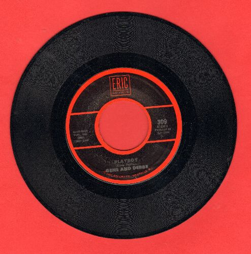 Gene & Debbe - Playboy/Torture (by Kris Jensen on flip-side) (double-hit re-issue) - NM9/ - 45 rpm Records