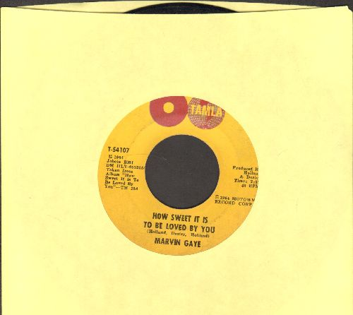 Gaye, Marvin - How Sweet It Is To Be Loved By You/Forever - VG7/ - 45 rpm Records