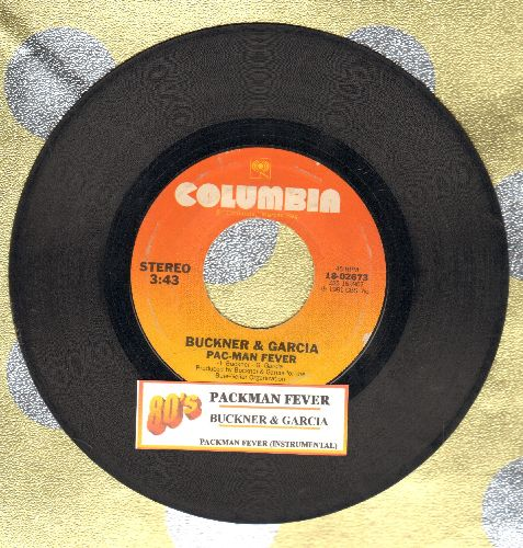 Buckner & Garcia - Pac-Man Fever/Pac-Man Fever (Instrumental) (with juke box label) - VG7/ - 45 rpm Records