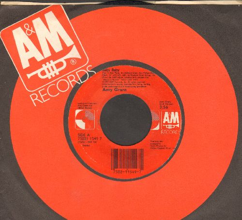 Grant, Amy - Baby Baby (2 versions of the hit, with company sleeve) - NM9/ - 45 rpm Records