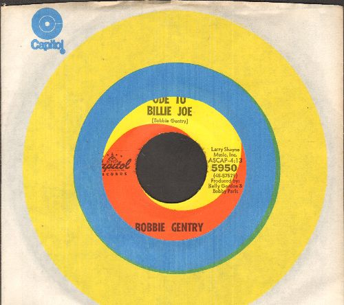 Gentry, Bobbie - Ode To Billy Joe/Mississippi Delta (with Capitol company sleeve) - NM9/ - 45 rpm Records