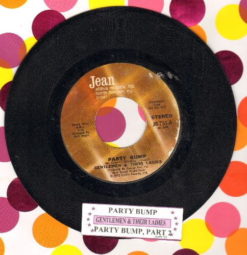 Gentlemen & Their Ladies - Party Bump/Party Bump Part 2 (with juke box label) - EX8/ - 45 rpm Records