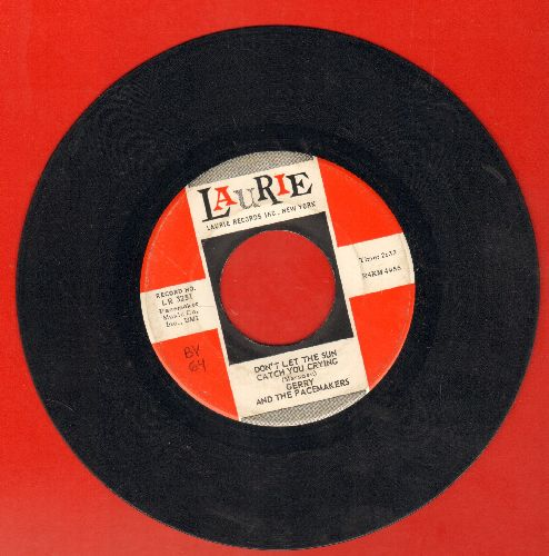 Gerry & The Pacemakers - Don't Let The Sun Catch You Crying/Away From You - VG7/ - 45 rpm Records