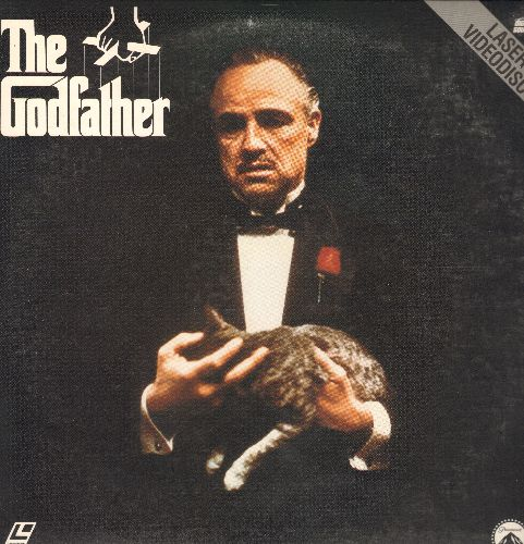 The Godfather - The Godfather - LASERDISC version of the Oscar Winning Francis Ford Coppola Classic. 2 LASERDISC Set. - NM9/EX8 - LaserDiscs