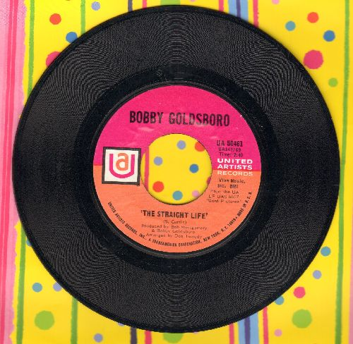 Goldsboro, Bobby - The Straight Life/Tomorrow Is Forever - M10/ - 45 rpm Records