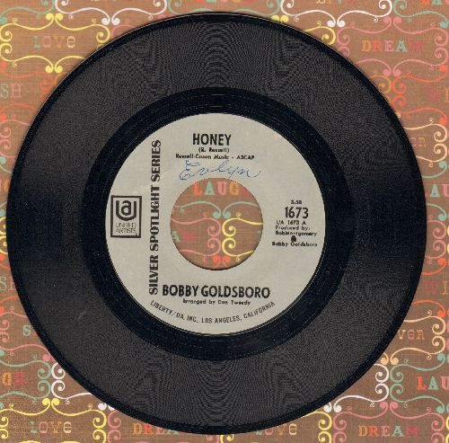 Goldsboro, Bobby - Honey (Honey, I Miss You)/Danny (early re-issue) - EX8/ - 45 rpm Records