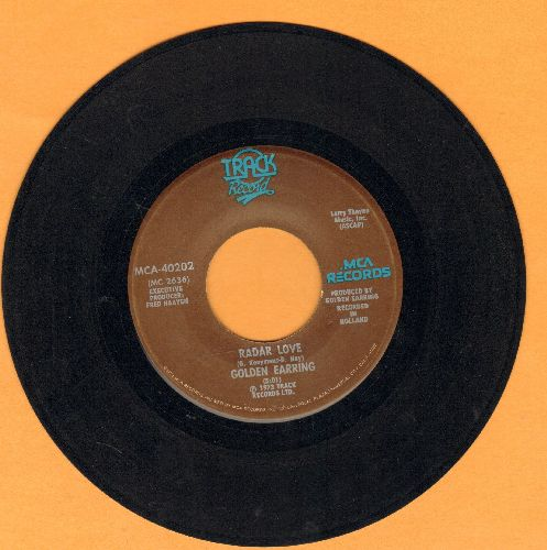 Golden Earring - Radar Love/Just Like Vince Taylor - EX8/ - 45 rpm Records