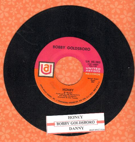Goldsboro, Bobby - Honey (Honey, I Miss You)/Danny (with juke box label) - NM9/ - 45 rpm Records