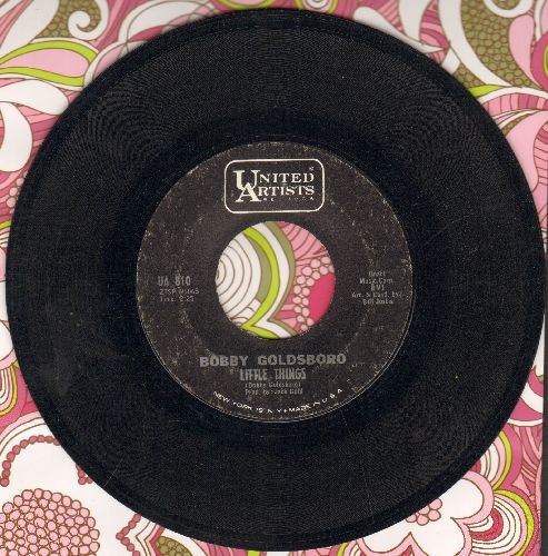 Goldsboro, Bobby - Little Things (That You Do)/I Can't Go On Pretending  - VG7/ - 45 rpm Records
