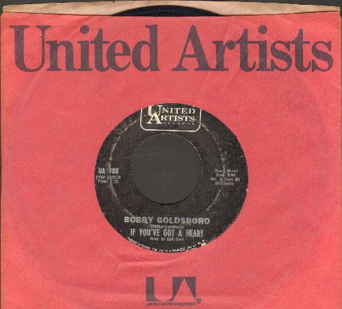 Goldsboro, Bobby - If You've Got A Heart/If You Wait For Love (with United Artists company sleeve)(with United Artists company sleeve) - EX8/ - 45 rpm Records
