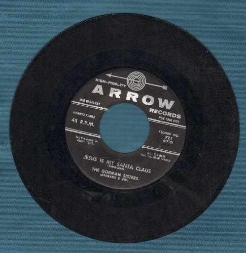 Gorman Sisters - Jesus Is My Santa Claus/Silent Night - EX8/ - 45 rpm Records