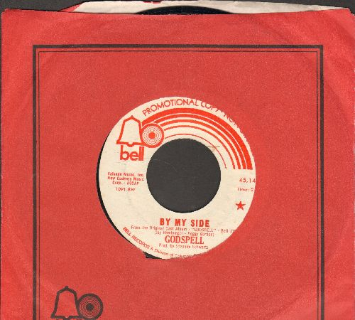 Godspell - By My Side/Crucifixion/Resurrection (DJ advance pressing with Bell company sleeve) - EX8/ - 45 rpm Records